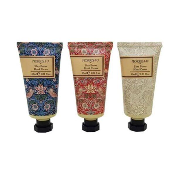 Morris & Co. Strawberry Thief Hand Cream Collection (3-x-30ml) 2