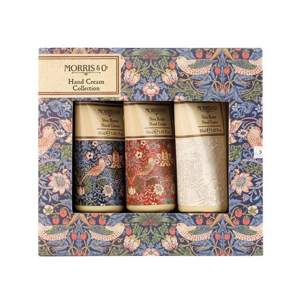 Morris & Co. Strawberry Thief Hand Cream Collection (3 x 30ml)