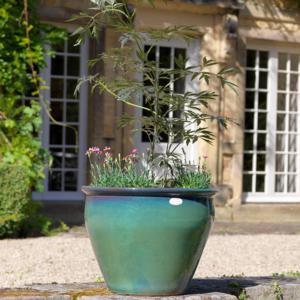 Naylor Clough Mill Leaf Conservatory Pot (Extra Large)