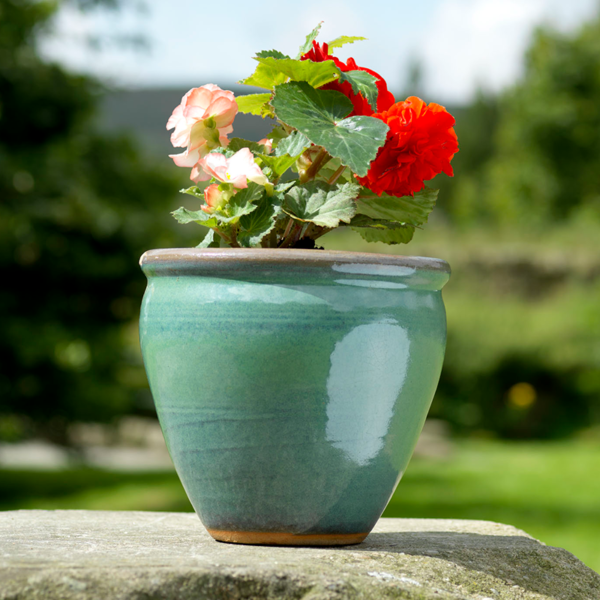 Naylor Clough Mill Leaf Conservatory Pot (Small)