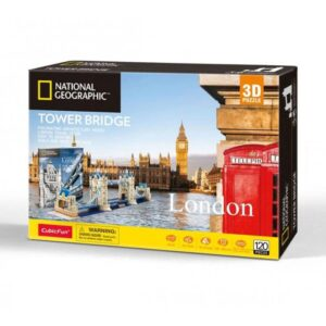 National Geographic London Tower Bridge 3D Puzzle Box