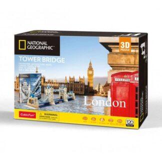 National Geographic London Tower Bridge 3D Puzzle Box