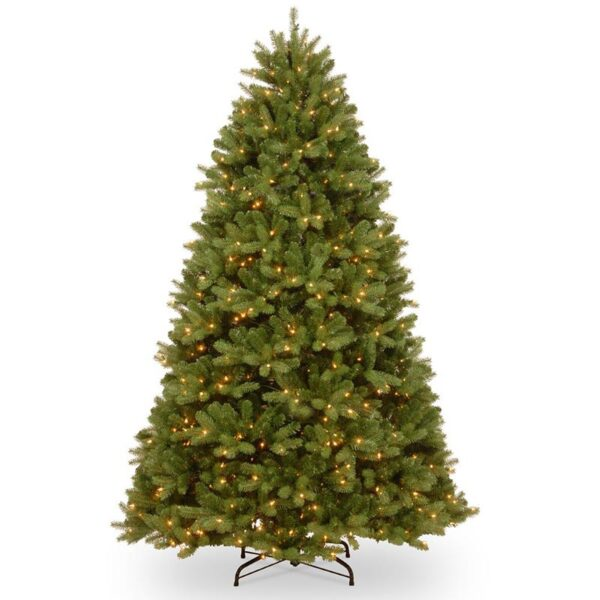 National Tree Newberry Spruce Pre-Lit LED Christmas Tree
