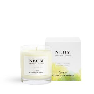 Neom Feel Refreshed Scented Candle -Scent to Boost Your Energy 1 wick