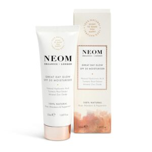 Neom Great Day Glow SPF 30 Moisturiser -Scent to Make You Happy