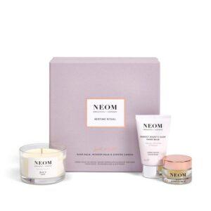 Neom Organics London Bedtime Ritual Scent To Sleep Gift Set gift box lifestyle