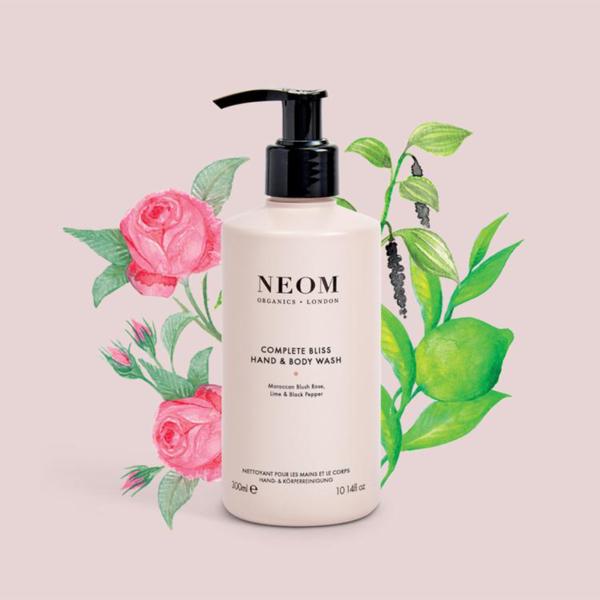 Neom Organics London Complete Bliss Hand & Body Wash product 2 illustration