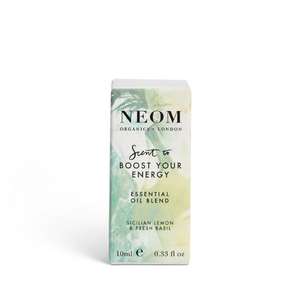 Neom Organics London - Feel Refreshed Essential Oil Blend - Scent to Boost Your Energy (10ml) 2