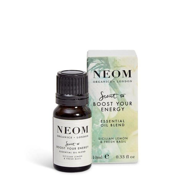 Neom Organics London - Feel Refreshed Essential Oil Blend - Scent to Boost Your Energy (10ml)