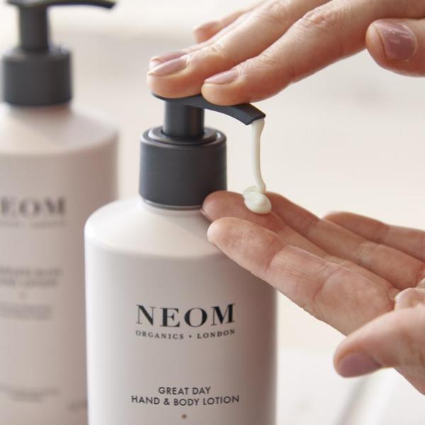 Neom Organics London Great Day Hand & Body Lotion Lifestyle