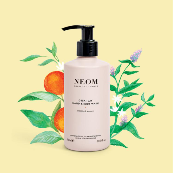 Neom Organics London Great Day Hand & Body Wash Product illustration