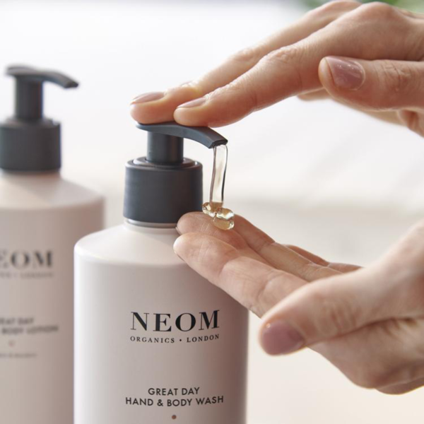 Neom Organics London Great Day Hand & Body Wash lifestyle