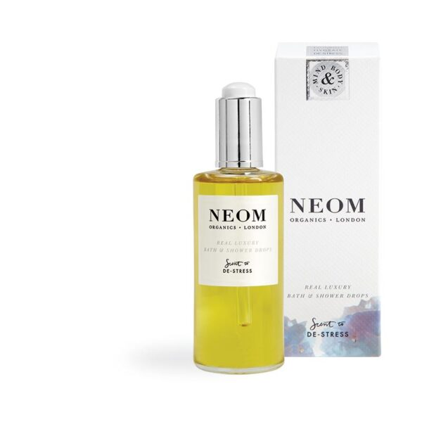 Neom Real Luxury Bath & Shower Drops-Scent to De-Stress