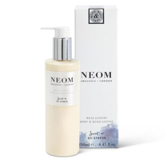 Neom Real Luxury Body & Hand Lotion-Scent to De-Stress