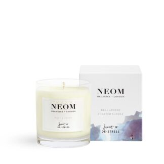 Neom Real Luxury Scented Candle-Scent to De-Stress 1 Wick
