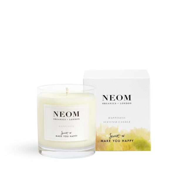 Neom Happiness Scented Candle-Scent to Make You Happy 1 wick
