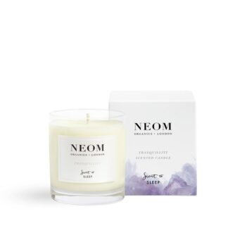 Neom Tranquillity Scented Candle -Scent to Sleep 1 wick