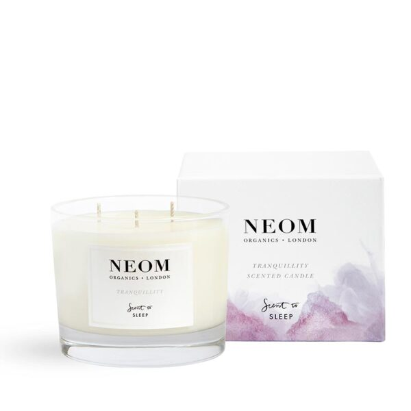 Neom Tranquillity Scented Candle -Scent to Sleep 3 wick
