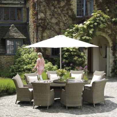 Bramblecrest Oakridge 8 Seat Garden Dining Set