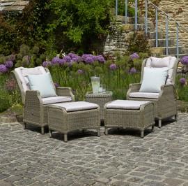 Oakridge recliners and footstools