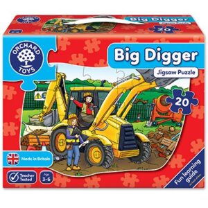 Orchard Toys - Big Digger Jigsaw Puzzle