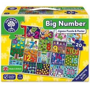 Orchard Toys - Big Number Jigsaw