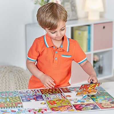 Orchard Toys - Big Number Jigsaw Completing