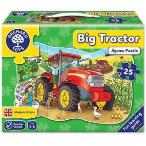 Orchard Toys - Big Tractor Jigsaw Puzzle