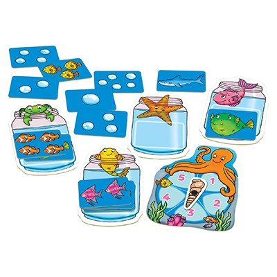 Orchard Toys - Catch & Count Game Contents