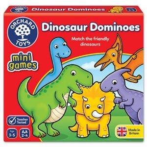 Orchard Toys - Dinosaur Dominoes Mini Game