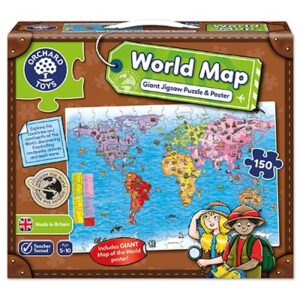 Orchard Toys - Giant World Map Puzzle & Poster