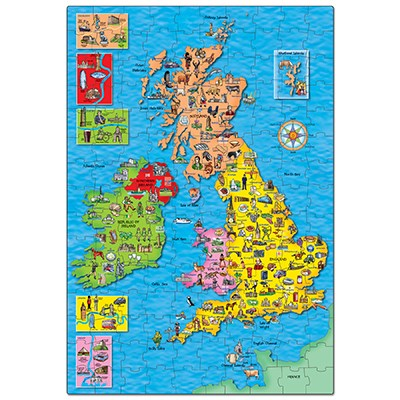 Orchard Toys - Great Britain and Ireland Jigsaw