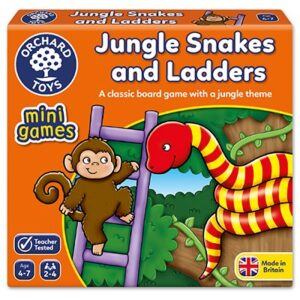 Orchard Toys - Jungle Snakes & Ladders Mini Game