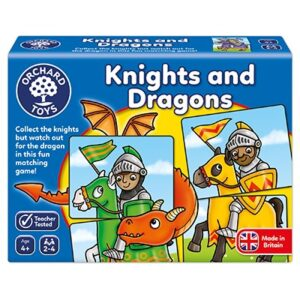 Orchard Toys - Knights & Dragons Game