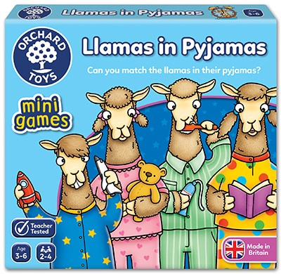 Orchard Toys - Llama's in Pyjamas Mini Game