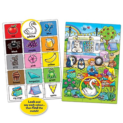 Orchard Toys - Look & Find Colour Jigsaw 2
