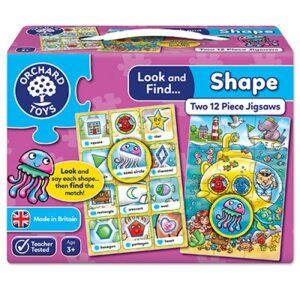 Orchard Toys - Look & Find Shapes Jigsaw