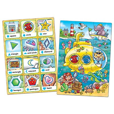 Orchard Toys - Look & Find Shapes Jigsaw 2