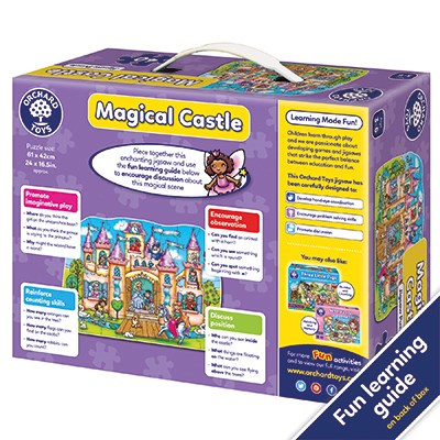 Orchard Toys - Magical Castle Jigsaw Puzzle Back