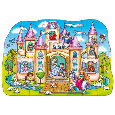 Orchard Toys - Magical Castle Jigsaw Puzzle Completed