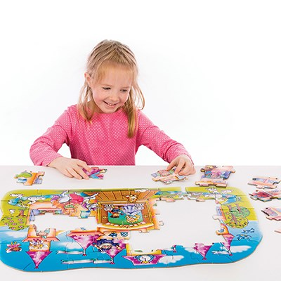 Orchard Toys - Magical Castle Jigsaw Puzzle Completing