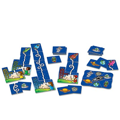 Orchard Toys - Rocket Game Contents