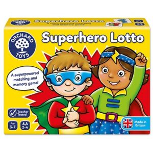 Orchard Toys - Superhero Lotto Game