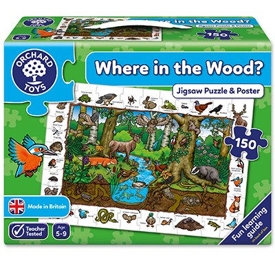 Orchard Toys - Where in the Wood Jigsaw Puzzle