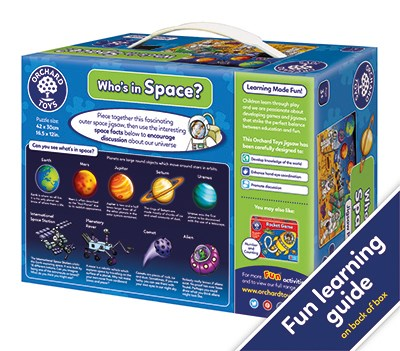 Orchard Toys - Who's in Space 3