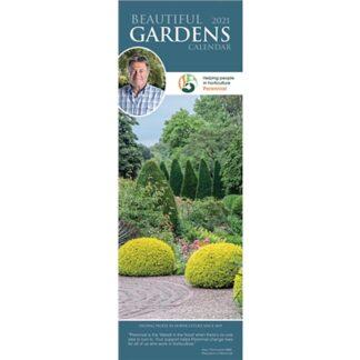Otter House Beautiful Gardens, Alan Titchmarsh Slim Calendar 2021