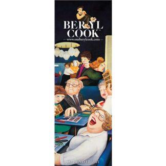 Otter House-Beryl Cook Slim Calendar 2021
