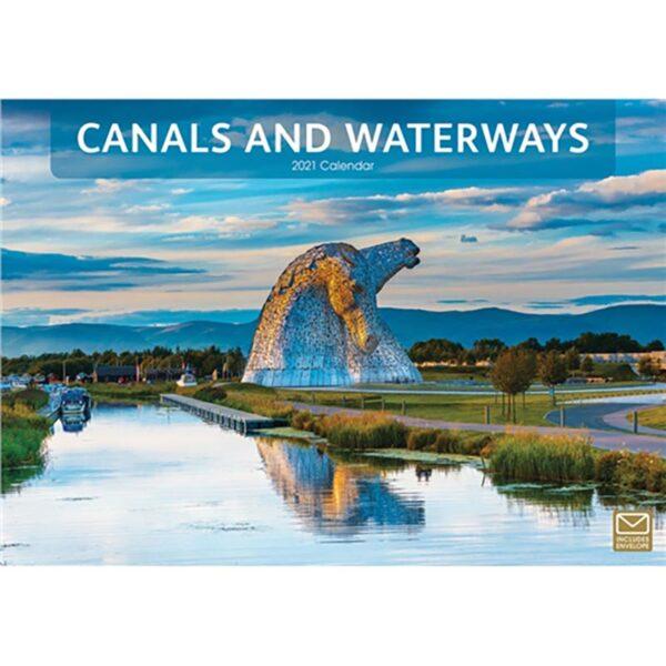 Otter House-Canals & Waterways A4 Calendar 2021
