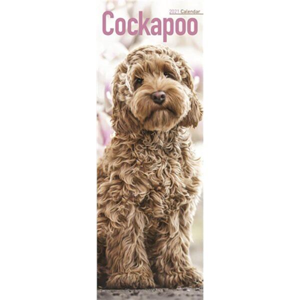 Otter House Cockapoo Slim Calendar 2021