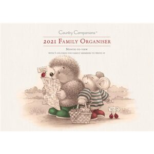 Otter House-Country Companions Family Planner A4 2021